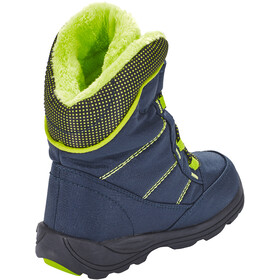 Kamik Stance Boots Kids navy lime-marine citron vert